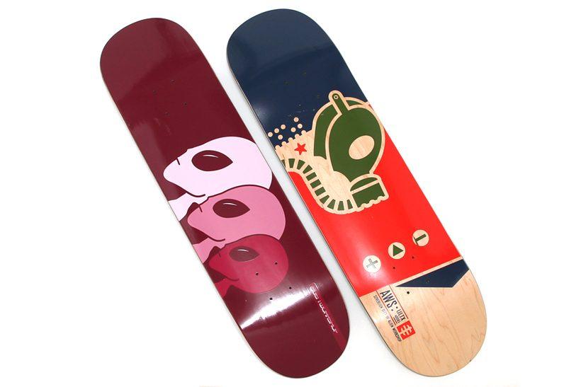 Alien Workshop Skateboard Deck Gas Mask 8.125