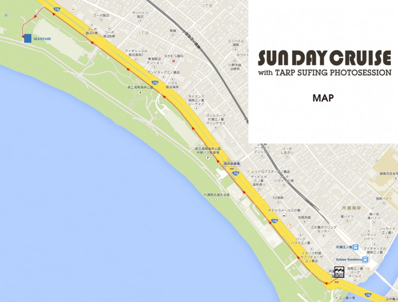 SunDayCruise_Map