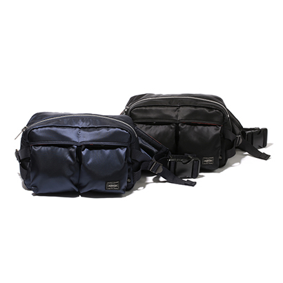 Stussy × Porter Waist Bag(W270 H170 D130mm)。各色ともに¥18 f5335acfc3a21