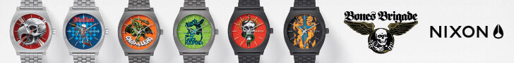 NIXON – BONES BRIGADE COLLECTION