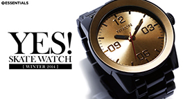 [ESSENTIALS] YES! SKATE WATCH WINTER 2014