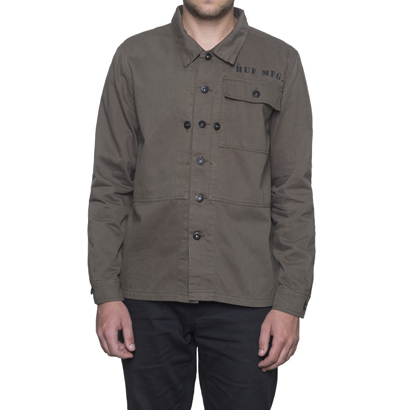 01_huf_sp16_d2_spam_p44_herringbone_jacket_olive_drab_front_1024_1024x1024