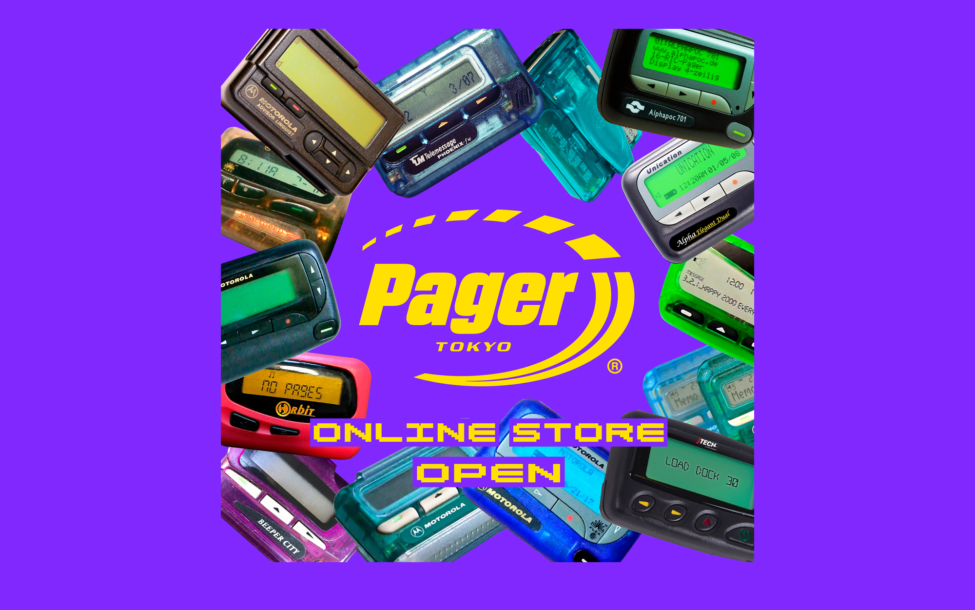 PAGER TOKYO