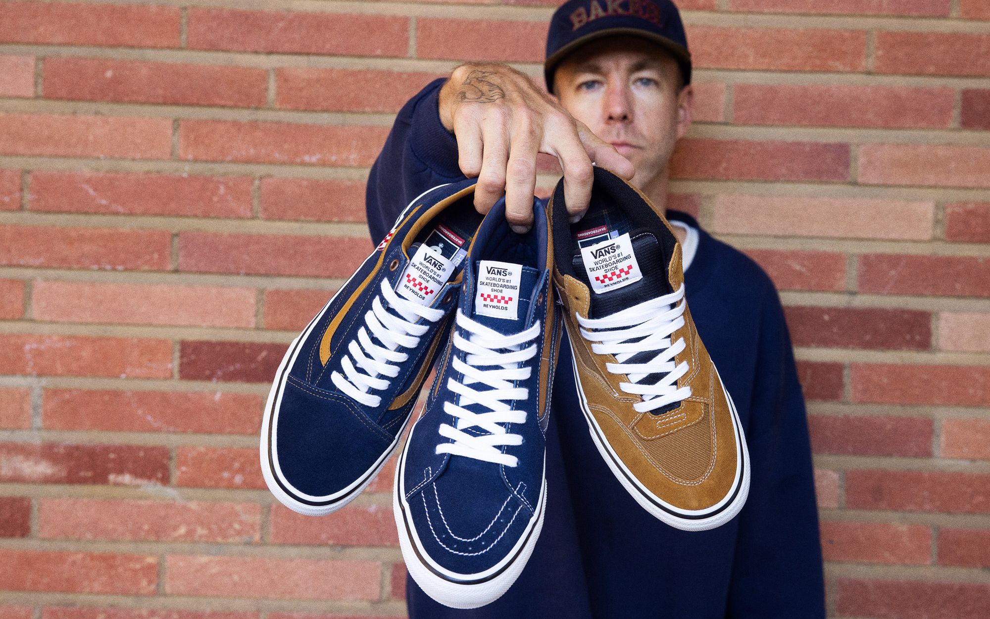 VANS - SKATE CLASSICS ANDREW REYNOLDS COLLECTION