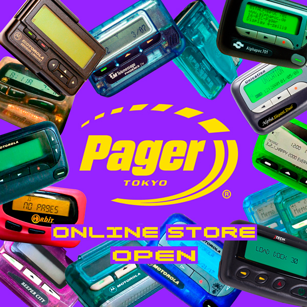 PAGER TOKYO ONLINE STORE